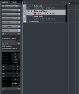 MIDI modifiers for MIDI sends